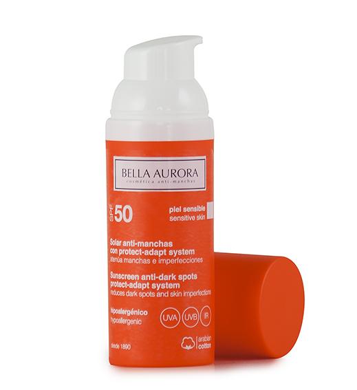 Антипигментный флюид SPF50 для чувствительной кожи